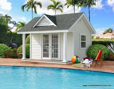 Pool Sheds | Photos | Homestead Structures