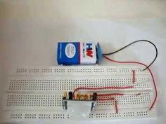 PIR Sensor Based Motion Detector / Sensor Circuit Diagram