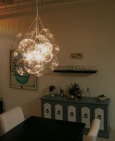 DIY Glass Chandeliers - The Bubble Chandelier