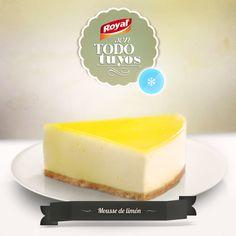 Mousse de limón #Royal #Postres #PostresRoyal  #Moussede limón