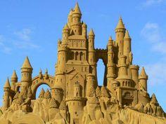 Blankenberge sand castle @ the Sand Sculpture Festival