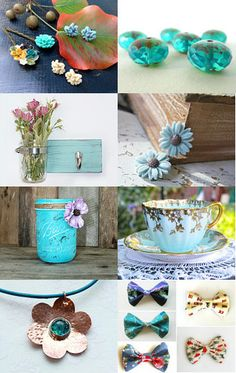 ATCTTEAM Turquoise Wicksteads Wickstead Blue Pastel --Pinned with TreasuryPin.com