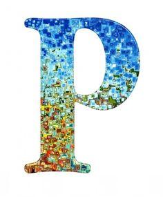 buchstabe letter p