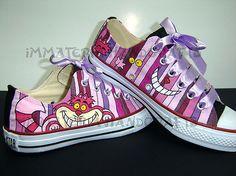 Cheshire Cat Shoes - Intense! - wouldbenonsense