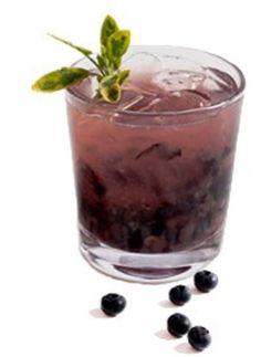 Cruz Blueberry Basil Margarita