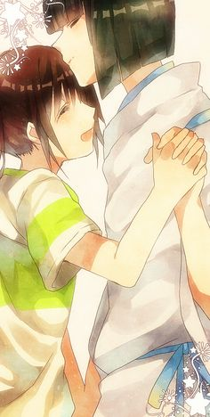 Spirited Away-Haku and Chihiro - yeah they're young but it's still one of the best ships ever!