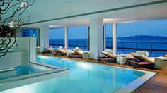 Also Trending:luxurious indoor pool For Sharing This Post Luxury Indoor Pool & Spa Interior Design Daios Cove Luxury indoor swimming pool Interior Design