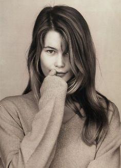 #Beauty #favorites by Merel Zoet - http://merelzoet.com: Claudia Schiffer