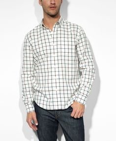 Levi's Standard One Pocket Shirt - Winetasting & Moab Plaid - Workshirts