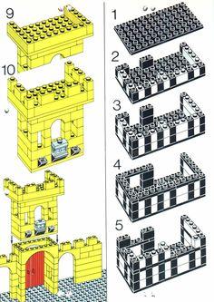 City - Castle Town Square [Lego 1592]