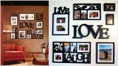 How to create a framed wall