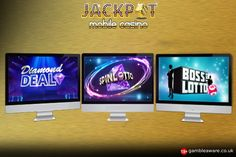 If you feel today is your lucky day then play Jackpot Mobile Casino's latest lottery-themed game, Boss the Lotto and Spin Lotto. Also, have fun with Diamond Deal scratch card game https://www.jackpotmobilecasino.co.uk/blog/new-online-casino-games/
