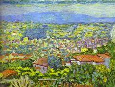 Pierre Bonnard, (Francia, 1867-1947): Vista de Cannet, 1942.