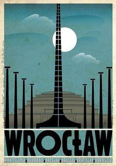Zdjęcie numer 31 w galerii - Polskie miasta i miasteczka na plakatach Ryszarda Kai