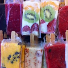 These popsicles are the perfect way to cool off on a hot summer day. And with lots of summer still ahead, I'll be making more of these for sure.A paleta, or pa