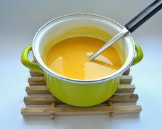 Dýňová polévka z pečené dýně