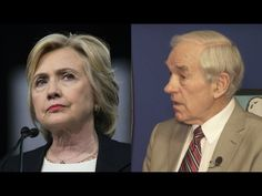 Ron Paul: Hillary Clinton Could've Run As A Republican! --  I agree with what he is saying about war and terrorism.