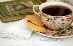 Coffee/tea and a good book . . . that sounds like a nice afternoon:)