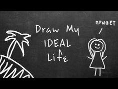 Draw my IDEAL life / Нарисуй свою идеальную жизнь - YouTube My Life, Draw, Character, Youtube, To Draw, Drawings, Paintings, Tekenen, Youtubers
