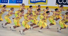 Finland, A photo collection of Synchronized Skating Dresses to use for inspiration Sk8 Gr8 Designs.