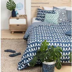 Another one of the General Eclectic duvet covers arrived today #generaleclectic #stfdnz #shutthefrontdoorstore #duvetcover #blueisthenewblack #bedlinen