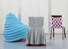 "Bernotat's ""Chair Wear"" Line Gives Old Furnishings a New Wardrobe 