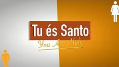 tu es santo cd jovem - YouTube