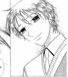 """Momiji Sohma (Fruits Basket) Grown up, I was like """"WHAAAAAAAAAAAA"""" xD """"so handsome!!"""""""