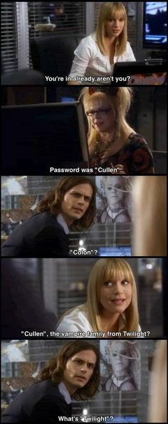 Lol I actually dont remember this episode of Criminal Minds. Love Reid's long hair!