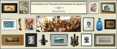 LOST ART SALON: Vintage Art, Modern Art & Antique Art (Paintings, Ceramics & Sculptures)