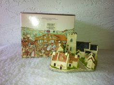 """Get ready for Christmas!!!  David Winters Cottages,  """"COTSWOOD VILLAGE"""" from 1982, Original Box.  by AntiqueCarla, $24.99"""