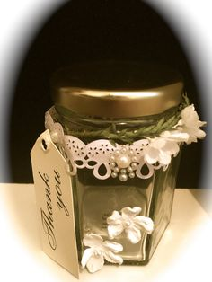 Wedding Favour Jar 7 by WeddingBellesCrafts on Etsy
