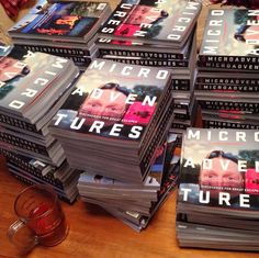 120 books to sign. Wish I had a short name like Ed Kay! Cricket on TV and a beer offset the boredom. by al_humphreys