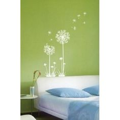 Amazing Flower bedroom wall stencils ideas Best Creative Wall Stencils Unique and Funny