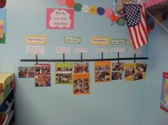 Timeline - This was something I did when I did my student teaching.  We kept photos from each month in the hall and the kids could recall and refer back to every big lesson learned!