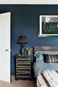 Living etc December December 2016 Black Kitchen Cabinets, Black Kitchens, Glamour Living Room, Living Room Decor, Dining Room, Living Etc Magazine, Edwardian House, Bedroom Wall Colors, Bedroom Ideas