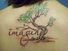 this is my tribute to john lennon of course. the tree is my take on the tree of life. (i am absolutely obsessed with all things beatles!) this was done back in november by autumn tierney in brewer, maine.