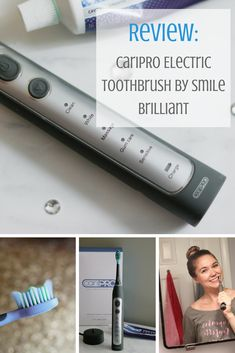 Buzzing about the cariPRO Toothbrush from Smile Brilliant | Katie Actually