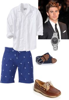 """""""Southern preppy guy outfit 3"""" by serenahilton on Polyvore"""