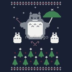 Forest Spirit Holiday! T-Shirt | Totoro and Studio ghibli