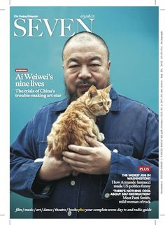 Ai Weiwei by Matthew Niederhauser, the cover story for SEVEN
