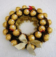 Ferrero wreath