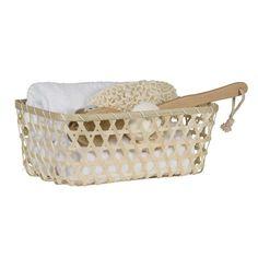 accessoires om de badkamer mee aan te kleden Laundry Basket, Wicker, Furniture, Studio, Tips, Home Decor, Accessories, Homemade Home Decor, Home Furnishings