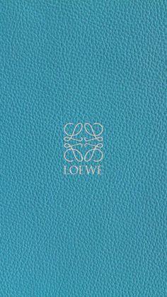 ロエベ/ロゴティールレザー iPhone壁紙 Wallpaper Backgrounds iPhone6/6S and Plus  LOEWE