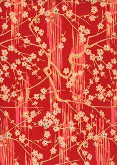Japanese Yuzen Chiyogami Washi Paper (Panorama Design 19)