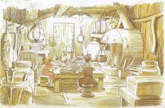 Studio Ghibli - Gdezalerie - Buta Connection