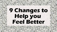 Changes you can make to feel better this year, to improve your life, to fight back against chronic pain and fatigue.
