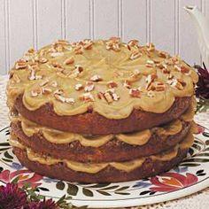 Pecan Torte Recipe,Taste of Home Recipes
