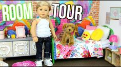 American Girl Doll Tenney's Room Tour