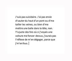 """Image in """"Textes. on We Heart It Quotes Francais, Sad Quotes, Life Quotes, Passion Quotes, Dont Be Normal, Manga Quotes, French Quotes, Bad Mood, Sad Love"""